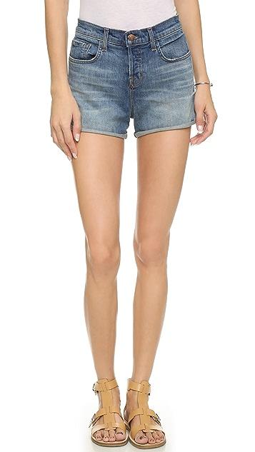 ad2b765d4cc J Brand Gracie High Rise Cuffed Shorts ...