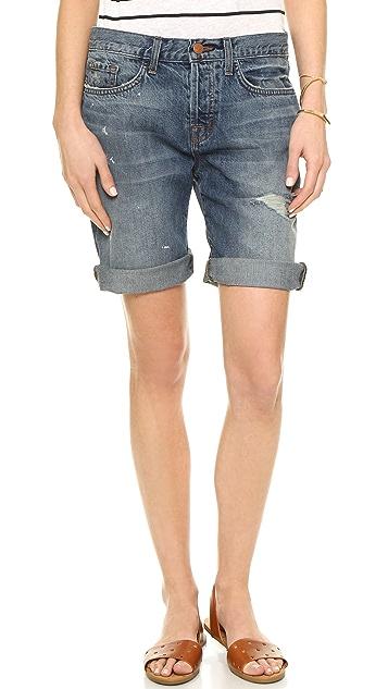 a9e193819c J Brand Dani Mid Rise Relaxed Bermuda Shorts | SHOPBOP