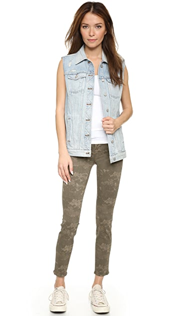 J Brand 8227 Mid Rise Ankle Crop Jeans
