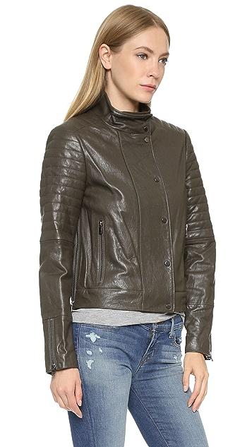 J Brand Marshal Leather Jacket