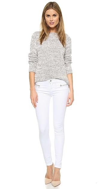 J Brand 8024 Emma Mid Rise Super Skinny Jeans