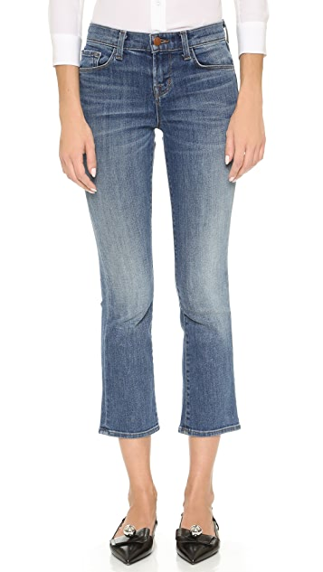 J Brand Selena Cropped Boot Cut Jeans