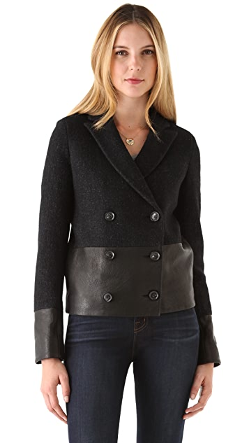 J Brand Ready-to-Wear Alberta Pea Coat