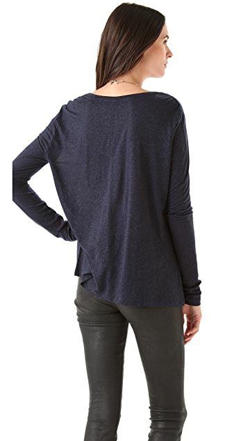 J Brand Ready-to-Wear Dara Long Sleeve Tee