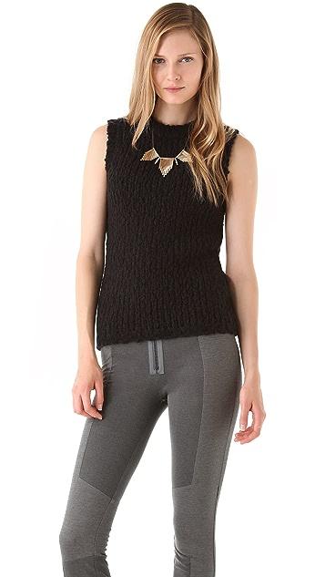 J Brand Ready-to-Wear Aquene Sleeveless Sweater