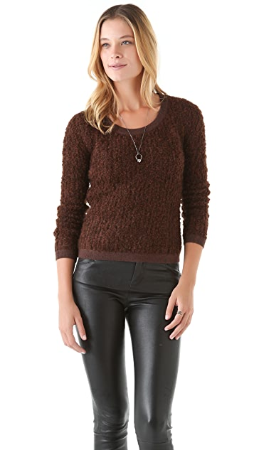 J Brand Ready-to-Wear Blinn Boat Neck Sweater