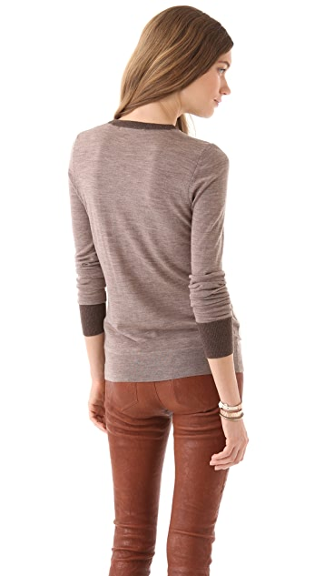 J Brand Ready-to-Wear Blythe Crew Sweater