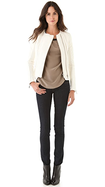 J Brand Ready-to-Wear Abiah Leather Jacket