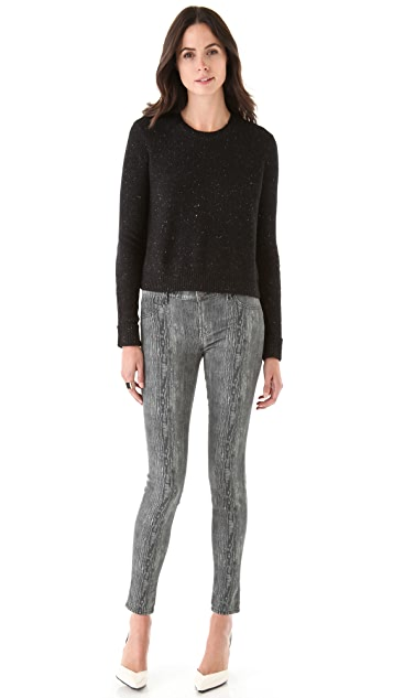 J Brand Ready-to-Wear Aldara Crew Pullover Sweater