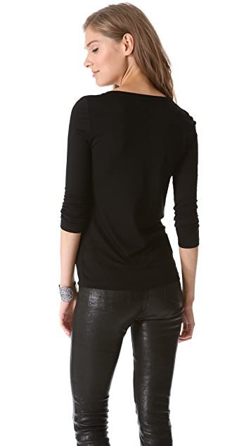 J Brand Ready-to-Wear Sophie Long Sleeve Tee