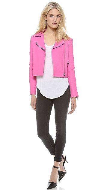 J Brand Ready-to-Wear Wayfarer Leather Jacket