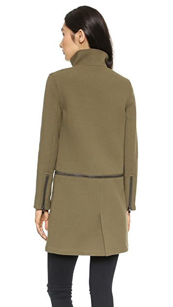 J Brand Ready-to-Wear Anise Zip Off Coat