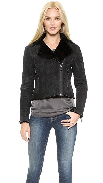 J Brand Ready-to-Wear Lana Shearling Jacket