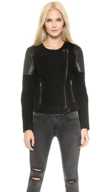 J Brand Ready-to-Wear Ranya Leather Jacket