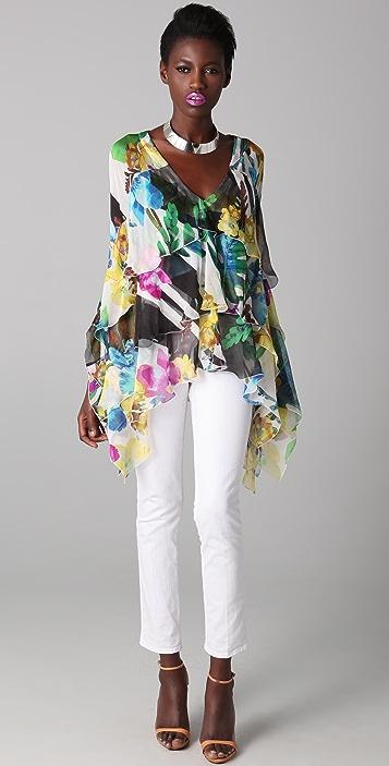 Just Cavalli Floral Tunic