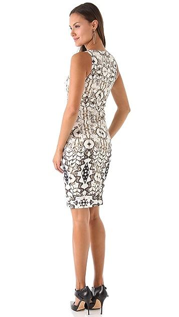 Just Cavalli Appaloosa Print Dress