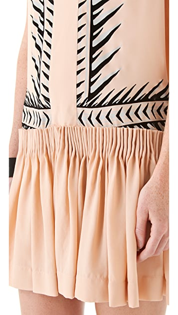 Just Cavalli Drop Waist Dress