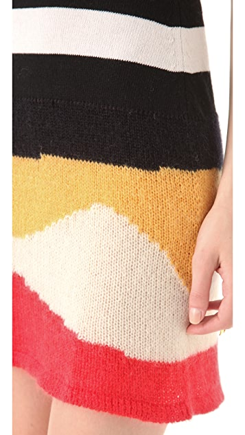Just Cavalli Sleeveless Sweater Dress