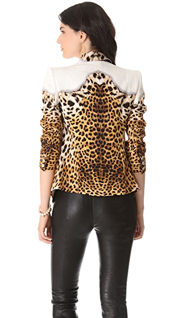 Just Cavalli Wild Carpet Blazer