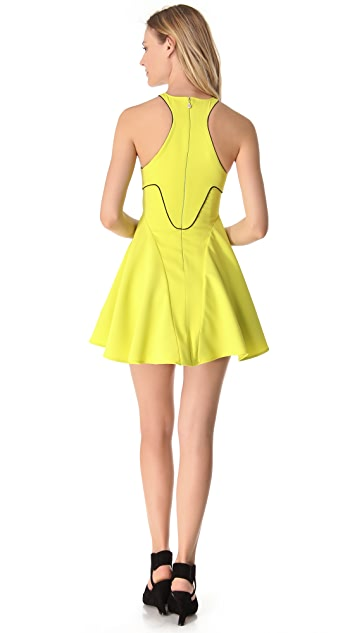 Just Cavalli Racer Back Piped Dress