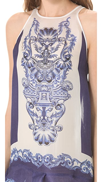 Just Cavalli Nymph Print Dress