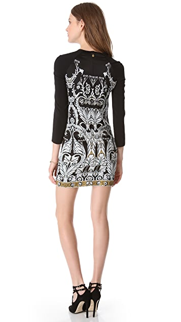 Just Cavalli Cutout Shift Dress
