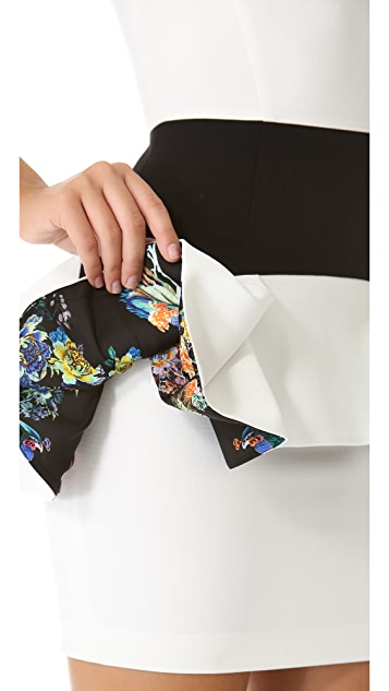Just Cavalli Peplum Dress