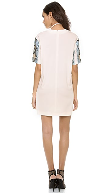 Just Cavalli Short Sleeve Dress