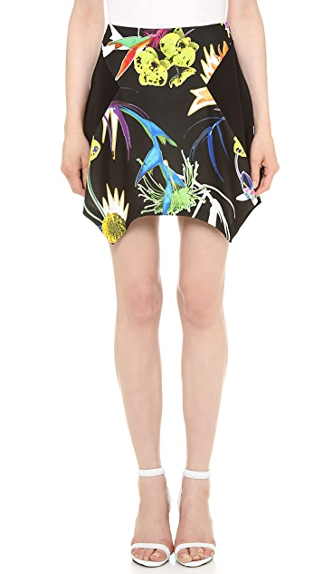 Just Cavalli Flower Print Skirt