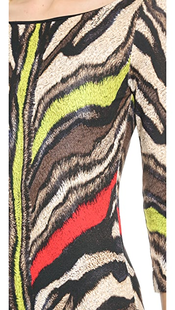 Just Cavalli Tiger Print Dress