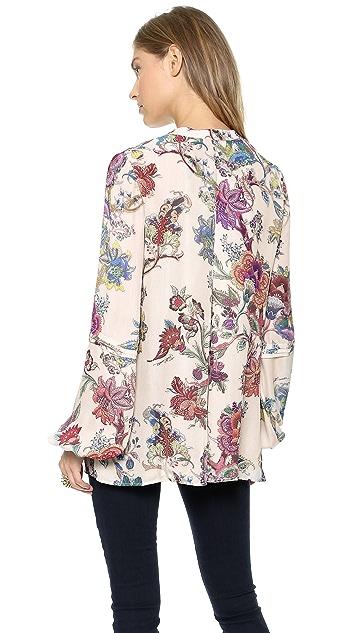 Just Cavalli Floral Print Top