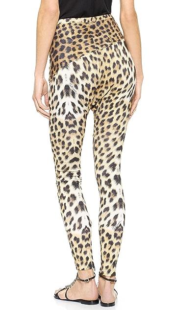 Just Cavalli Leopard Leggings