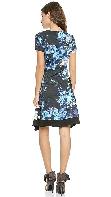 Just Cavalli Floral Dress