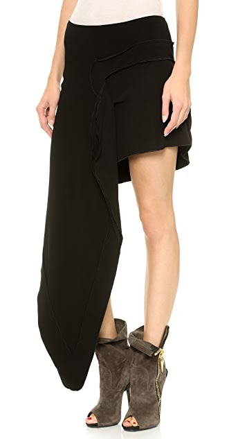Just Cavalli Asymmetrical Skirt