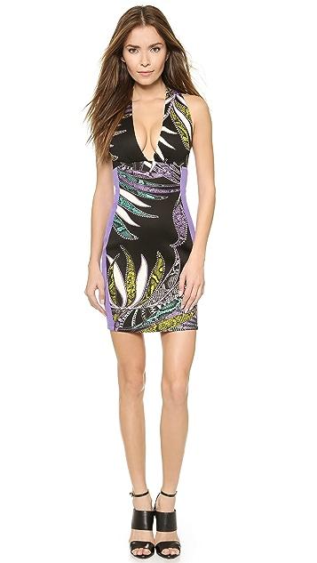 Just Cavalli Halter Dress