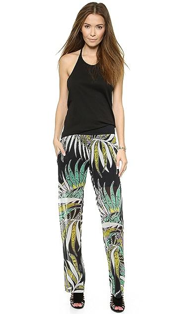 Just Cavalli Elastic Waistband Pants