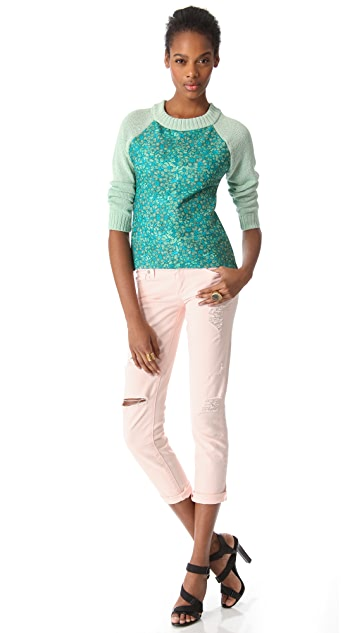 Joy Cioci Fern Combo Sweater