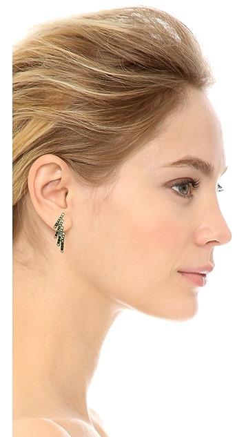 Joanna Laura Constantine Crystal Wing Earrings