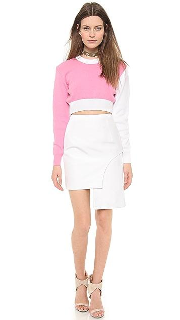Jacquemus Asymmetrical Miniskirt