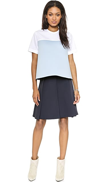 Jacquemus Pleated Trapeze Skirt