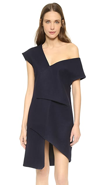 Jacquemus Asymmetrical Dress