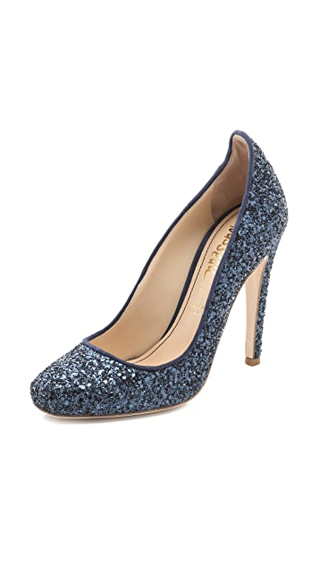 Jerome C. Rousseau Aizza Glitter Pumps