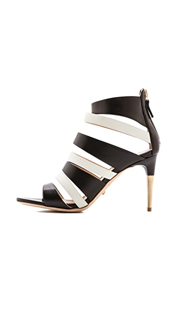 Jerome C. Rousseau Topanga 皮革凉鞋