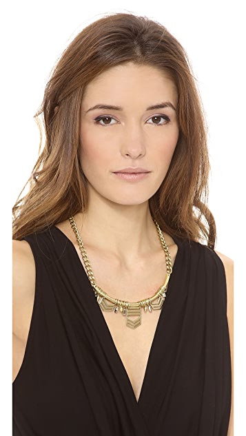 Jene DeSpain Dakota Crescent Necklace