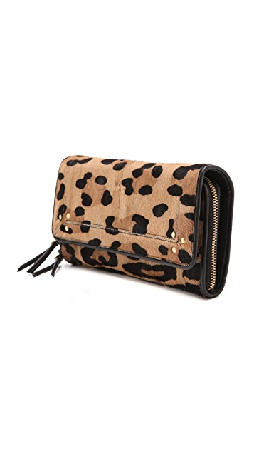Jerome Dreyfuss Paf Haircalf Wallet Clutch