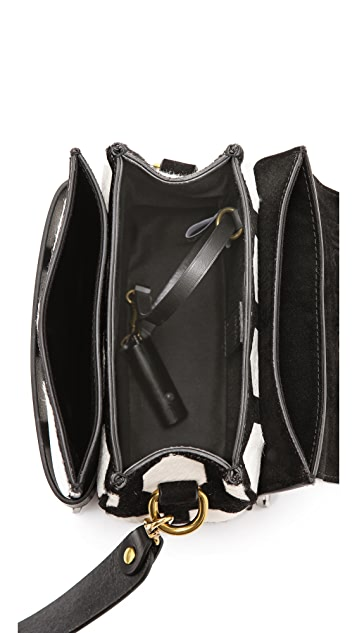 Jerome Dreyfuss Nicolas Haircalf Cross Body Bag