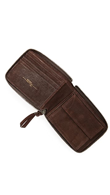 Jerome Dreyfuss Denis Zip Wallet