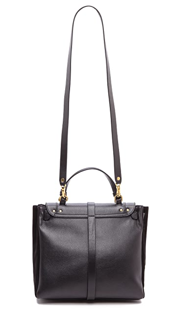 Jerome Dreyfuss Edouard Black Caviar Bag