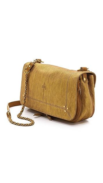 Jerome Dreyfuss Sueded Bobi Shoulder Bag