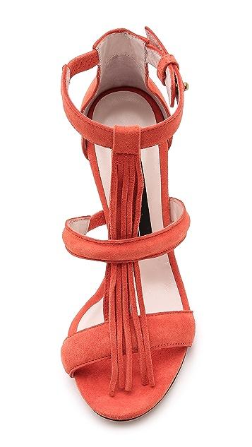 Jerome Dreyfuss Bea Fringe Sandals